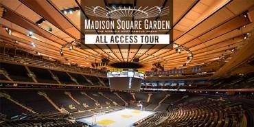 Madison Square Garden All Access Tour