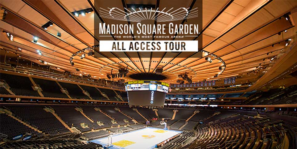 Madison Square Garden All Access Tour Attraction Pass