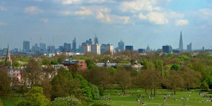 London from Primrose Hill
